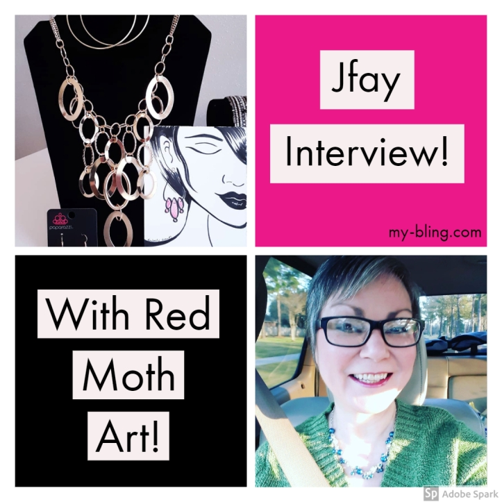Jfay interview with Red Moth Art about Paparazzi Accessories