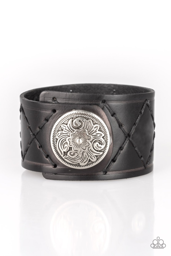 Badlands Bandit Men's Leather Bracelet $5 www.my-bling.com