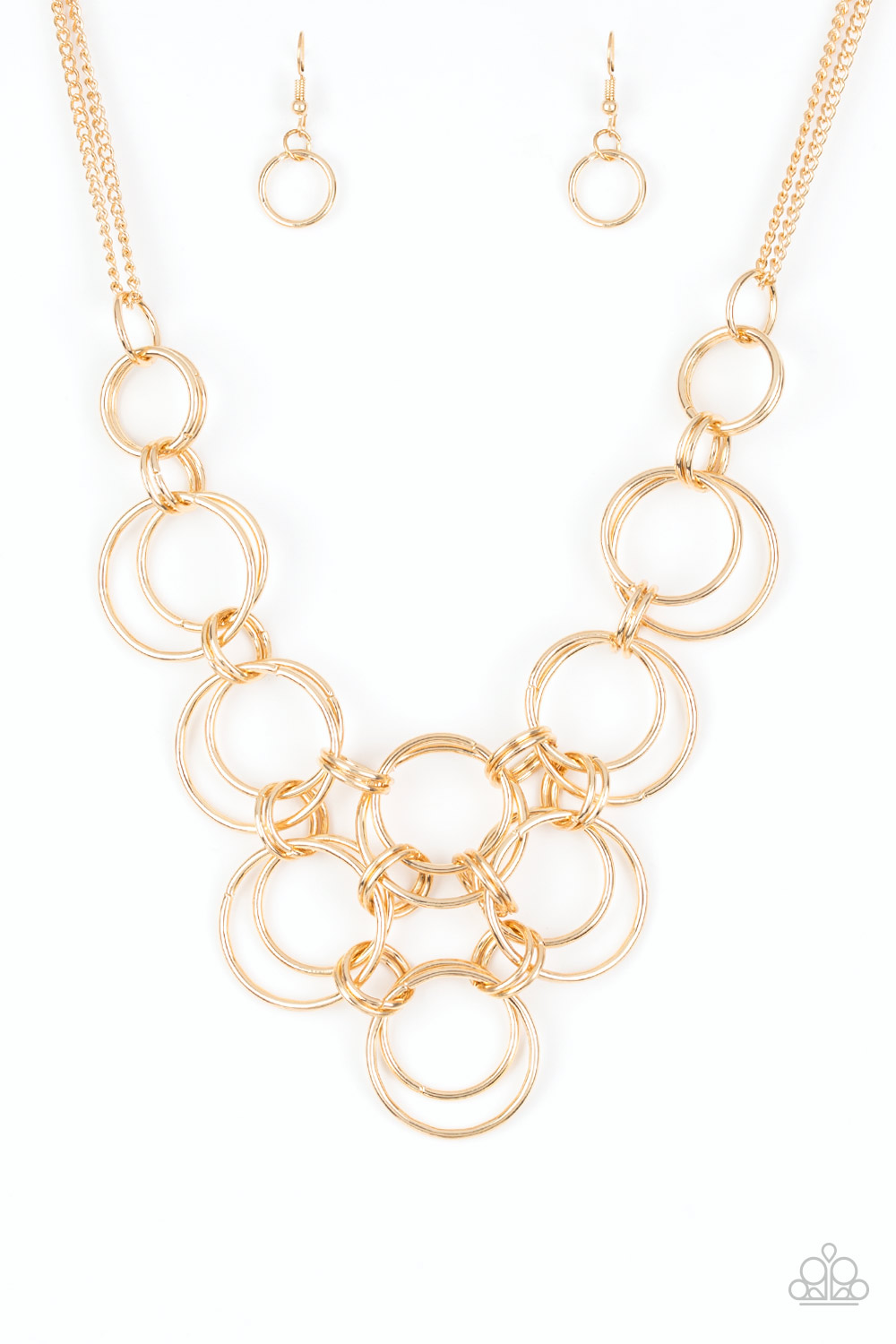 Ringing off the Hook Gold Necklace $5.00 www.my-bling.com