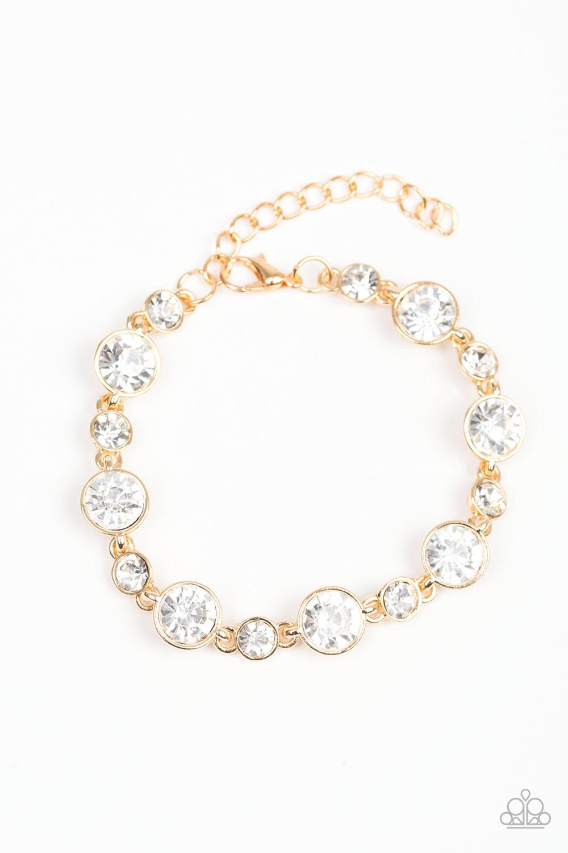 Starstruck Sparkle Gold Bracelet $5 www.my-bling.com