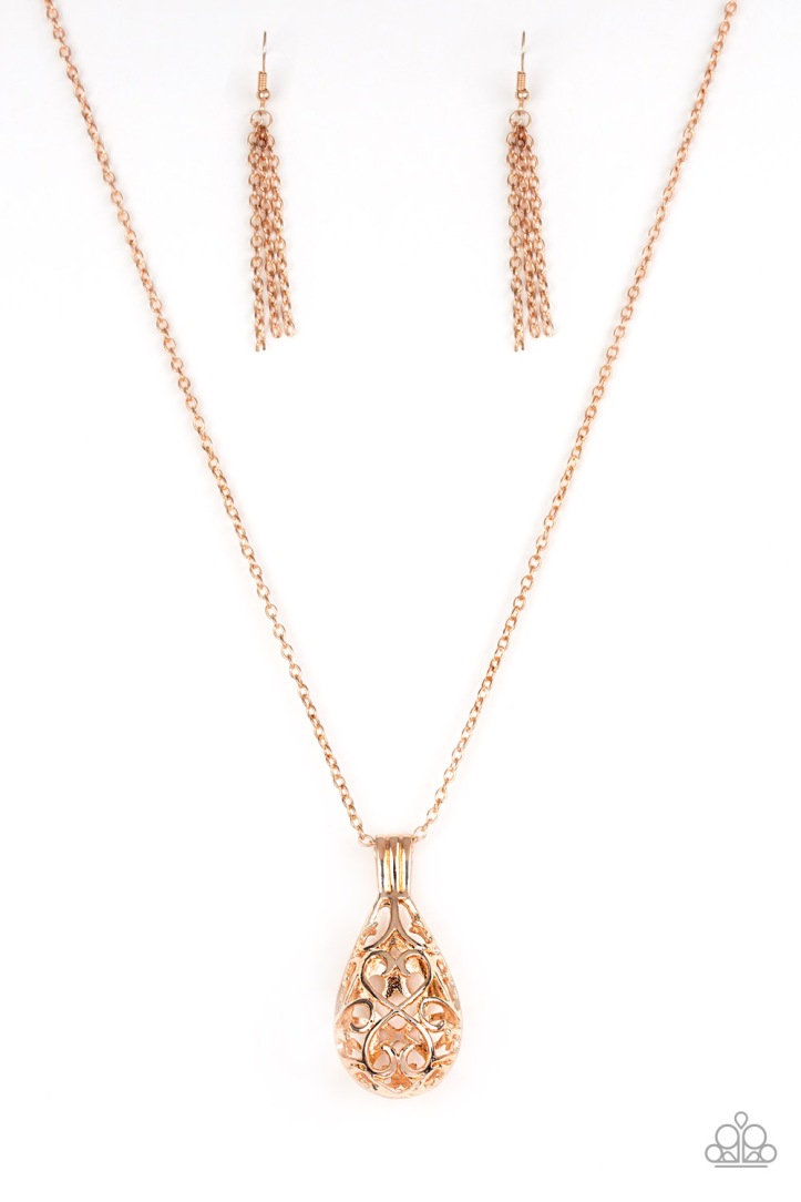 Magic Potions - Rose Gold Necklace $5 www.my-bling.com