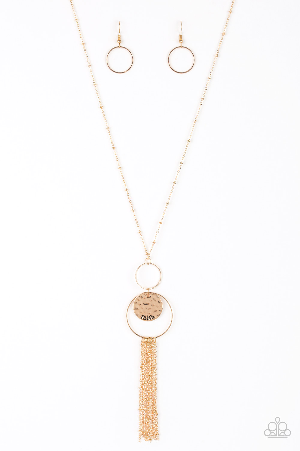 Faith Makes All Things Possible - Gold Necklace $5 www.my-bling.com