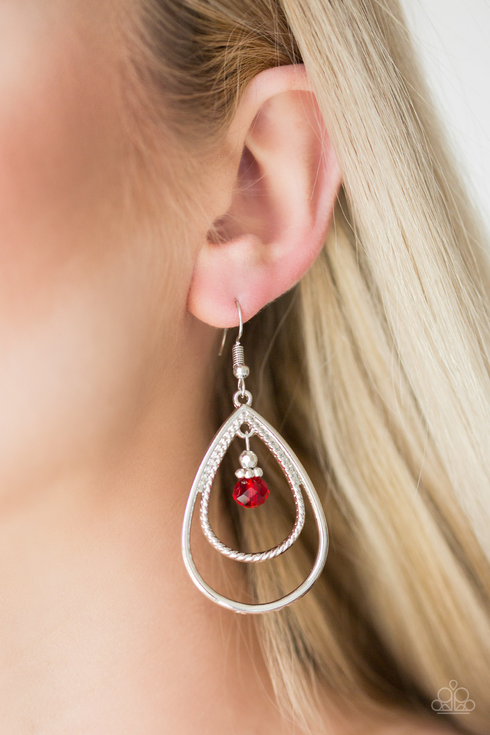 REIGN On My Parade - Red Earrings $5 my-bling.com