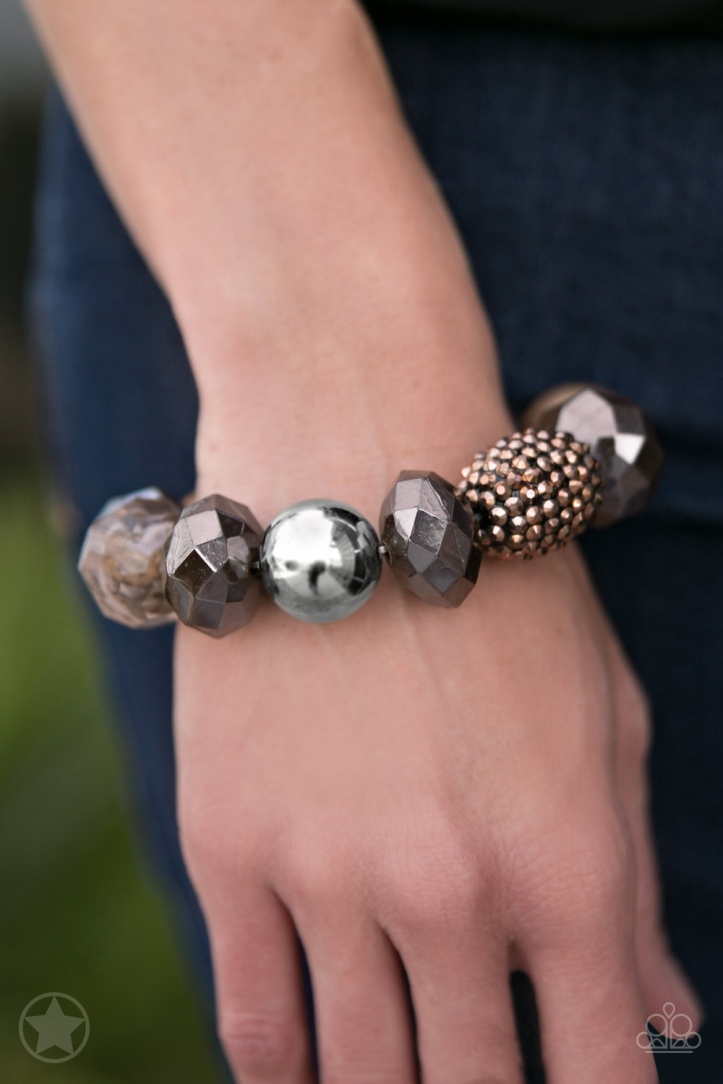 All Cozied Up Blockbuster Bead Bracelet $5 www.my-bling.com