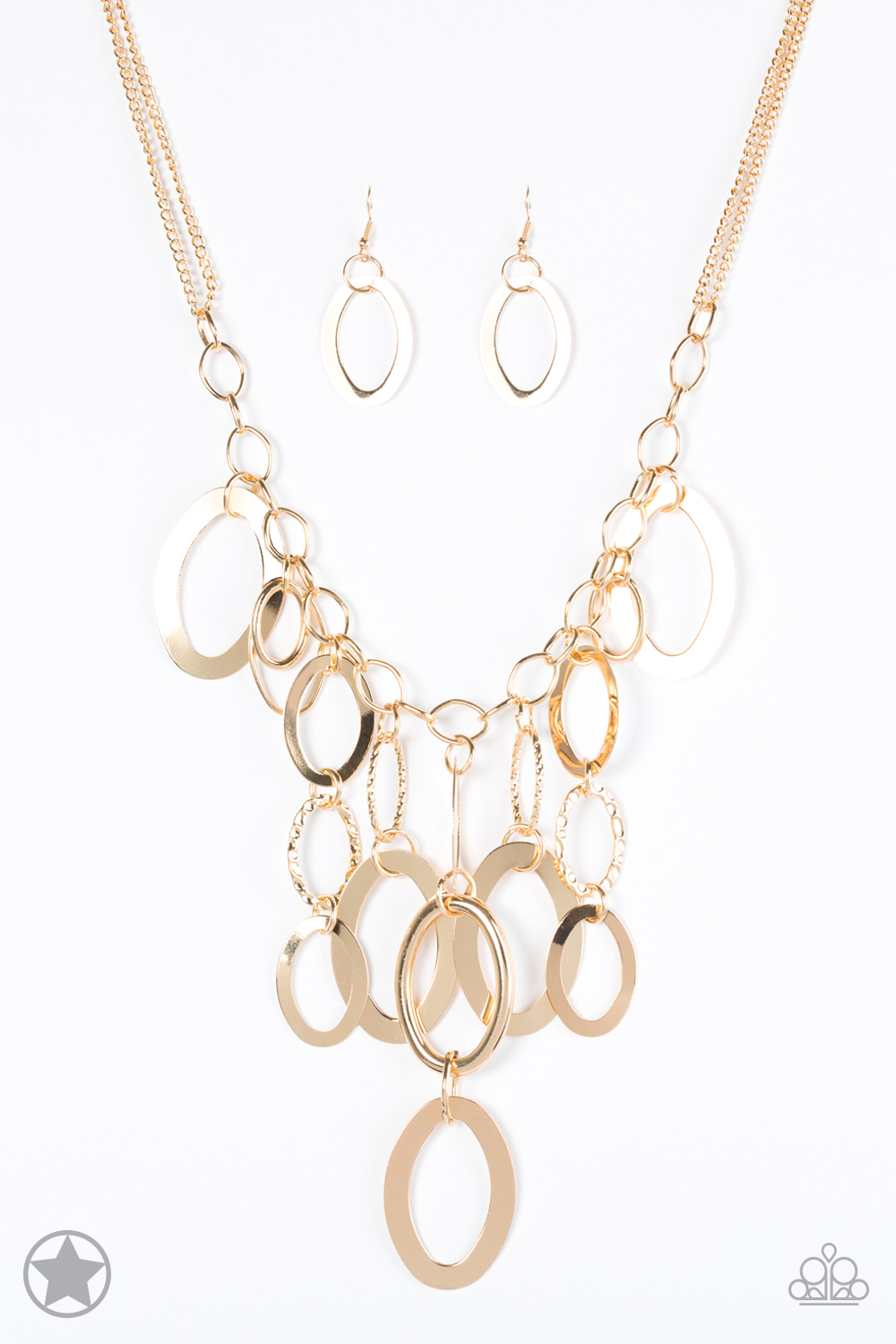 A Golden Spell Necklace and Earring Set $5.00 www.my-bling.com