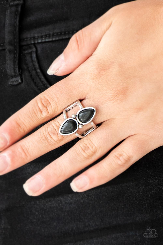 Simply Saharan - Black Ring $5 my-bling.com