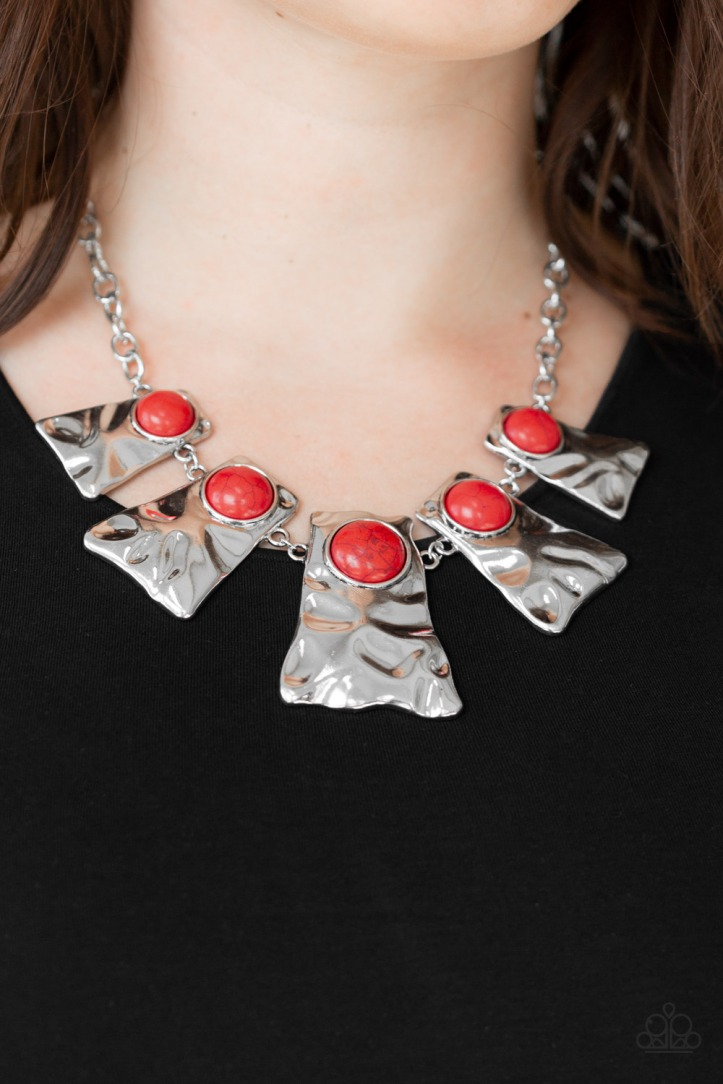 Cougar - Red Necklace $5 my-bling.com