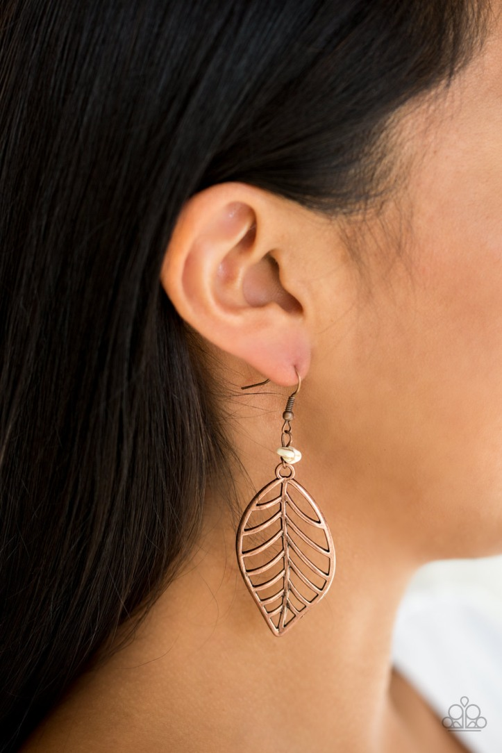 BOUGH Out Copper Earrings $5 my-bling.com