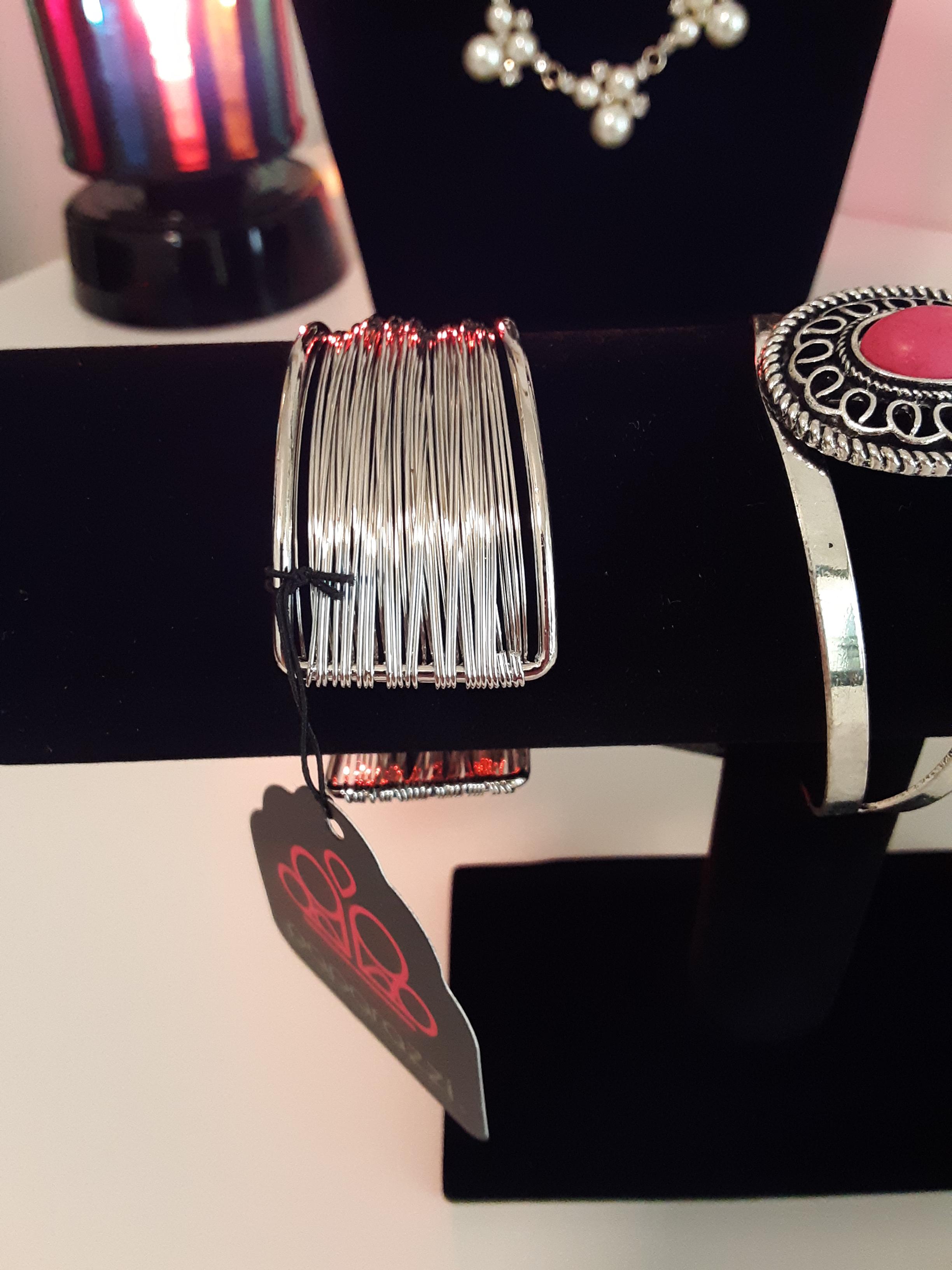 2 Paparazzi Cuff Bracelets $5.00 each from Jfay's Showroom