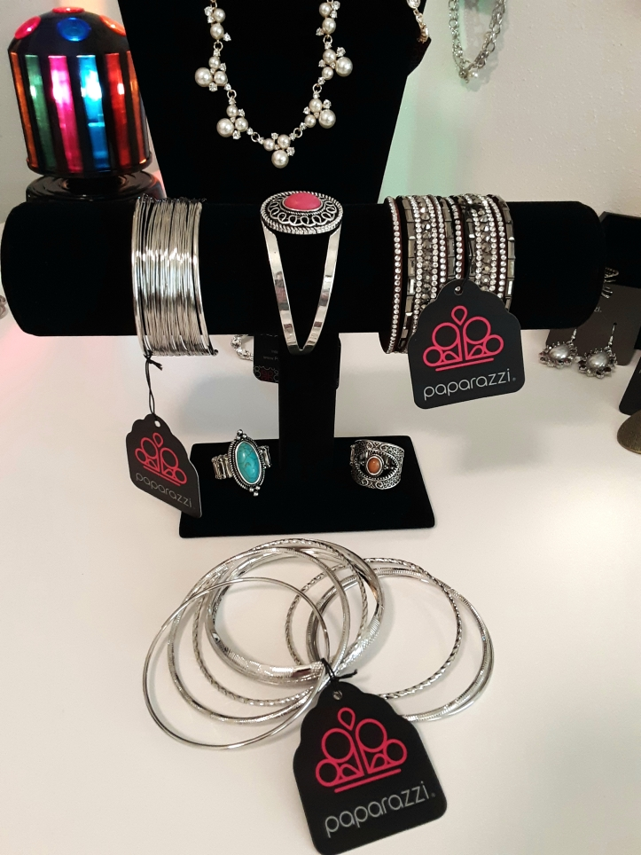 Paparazzi Bracelets and Rings $5.00 each from Jfay's Showroom