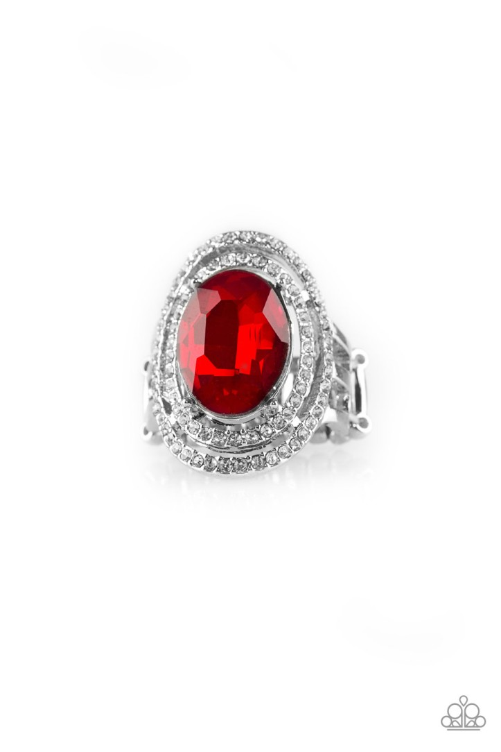 Making History - Red Ring $5 www.my-bling.com