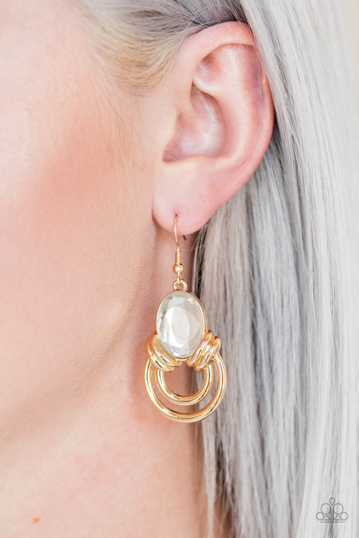 Real Queen - Gold Earrings $5.00 www.my-bling.com