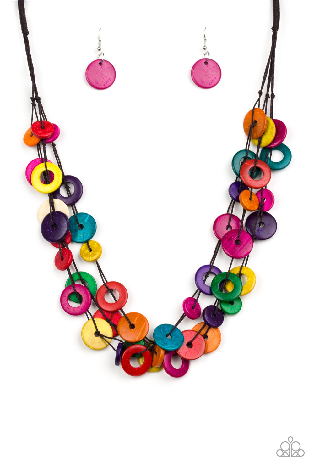 Wonderfully Walla Walla Multi-Colored Necklace by Paparazzi $5.00 www.my-bling.com