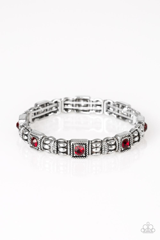 Metro Marvelous Red Bracelet $5 www.my-bling.com