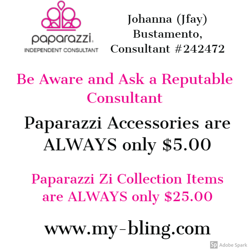 Paparazzi Accessories are ALWAYS only $5.00, and Paparazzi Zi Collections are ALWAYS only $25 www.my-bling.com