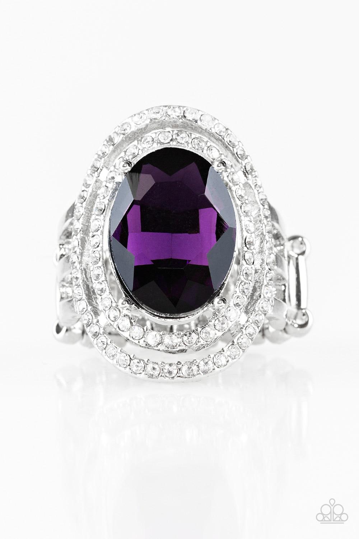 Purple Gem Ring $5 www.my-bling.com