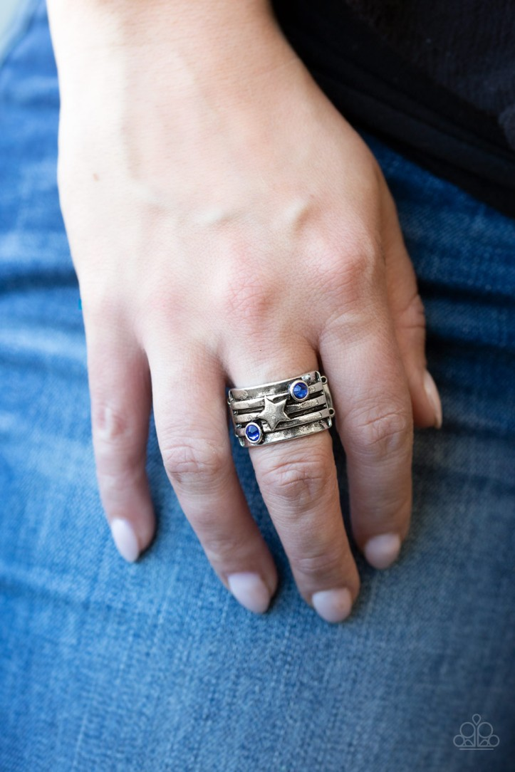 Stars and Stripes Ring from Paparazzi $5
