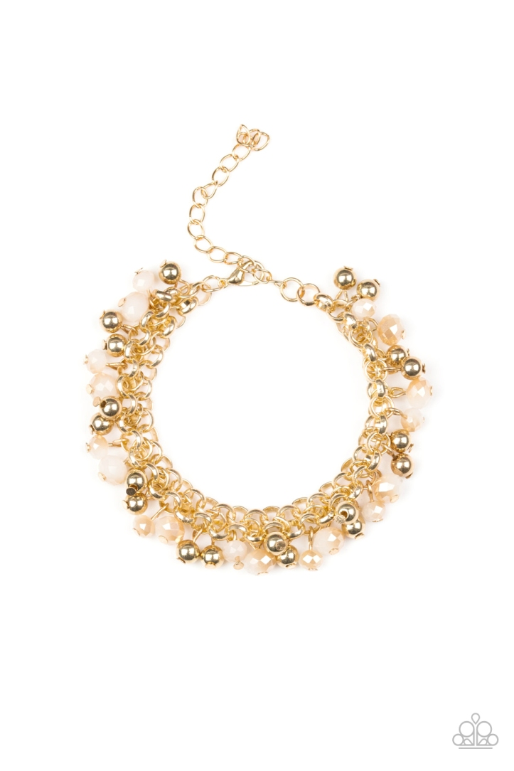 Just for the FUND of it golden bracelet by Paparazzi $5.00 https://paparazziaccessories.com/242472/