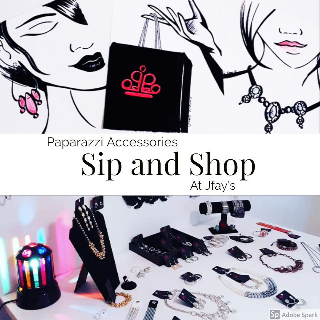 Join Jfay's Paparazzi Sip and Shop Online Event! https://paparazziaccessories.com/party/127350/join/