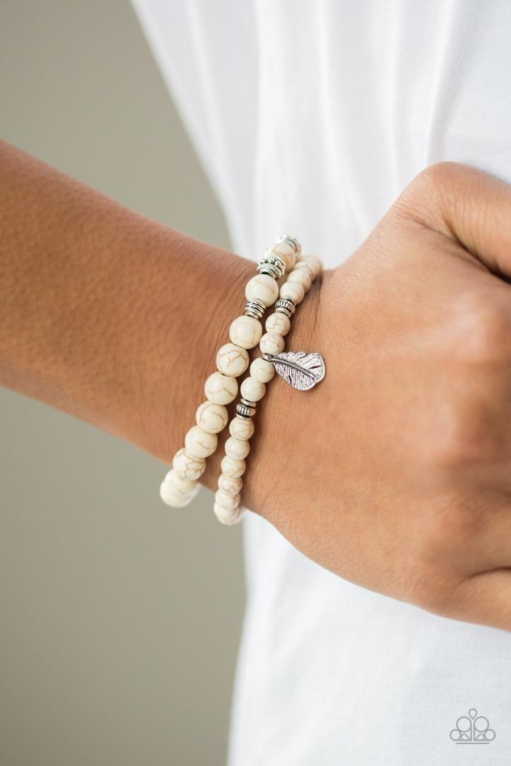 Desert Dove Bracelet in White $5.00 www.my-bling.com