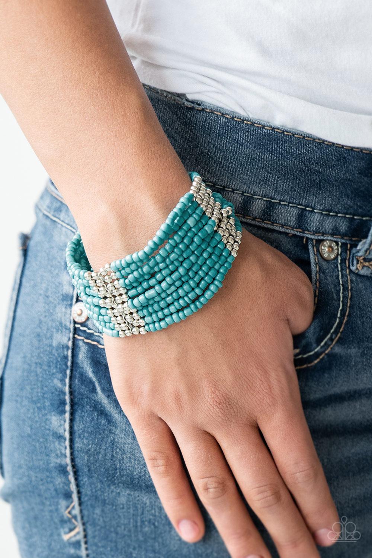 Outback Odyssey Blue Bracelet $5 my-bling.com